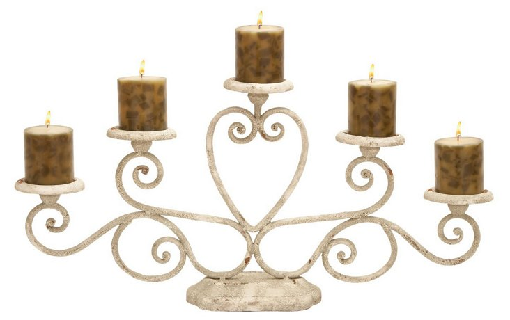 Cottage Candelabra