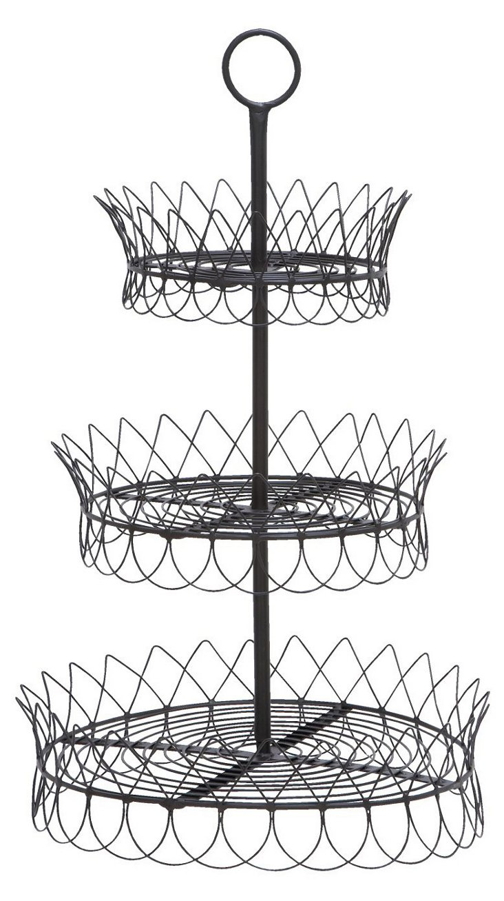 3-Tier Wire Tray