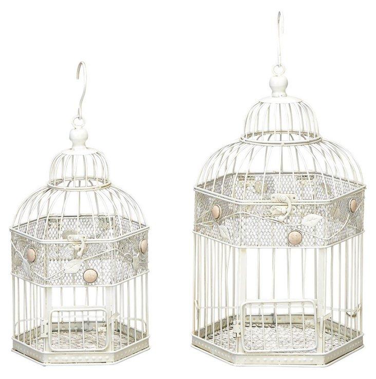 S/2 Gem Birdcages