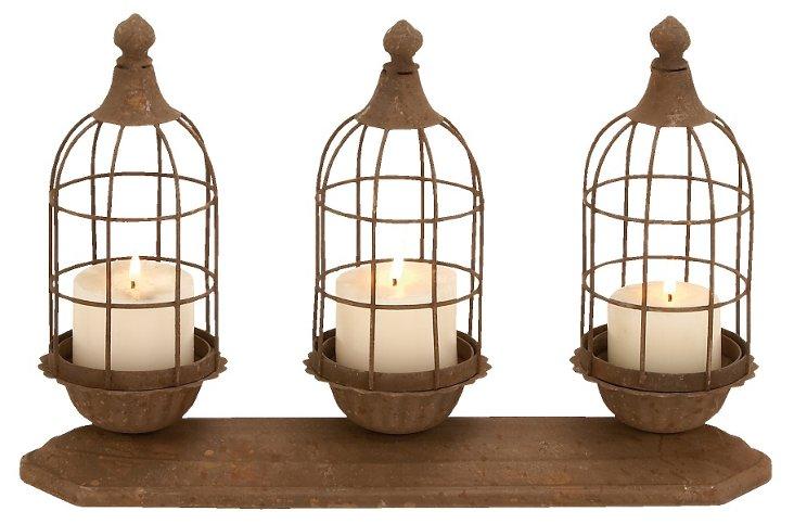 Loft 3-Candleholder