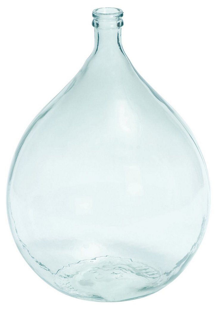 """22"""" Seascape Vase, Blue"""