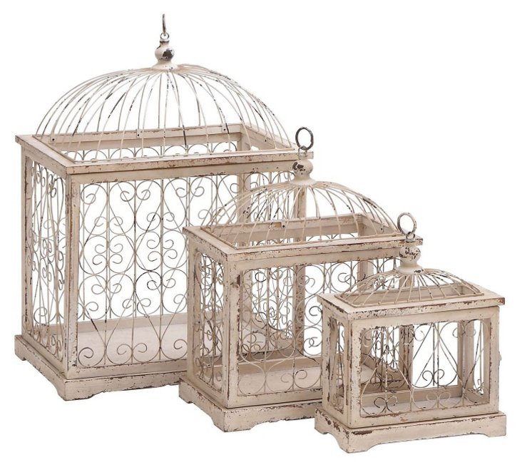 Asst. of 3 Countryside Birdcages