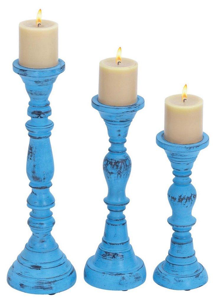 Classic Candleholders, Asst. of 3