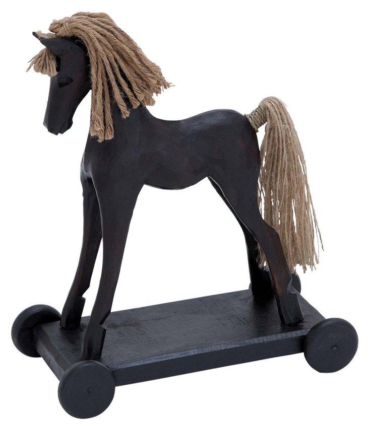 Wood & Jute Pony