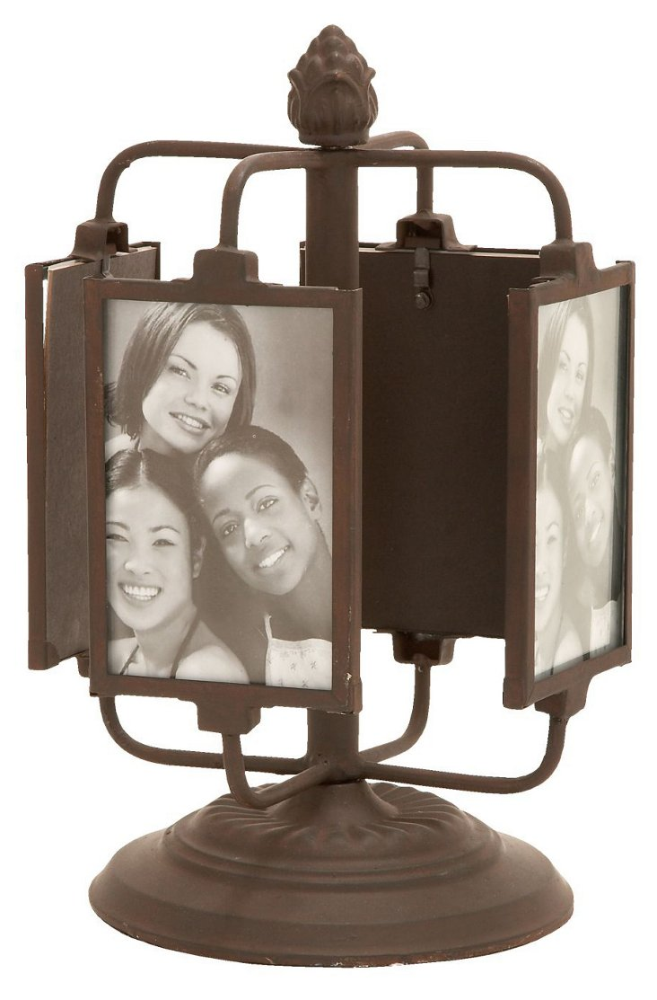 "13"" Rotating Photo Holder"