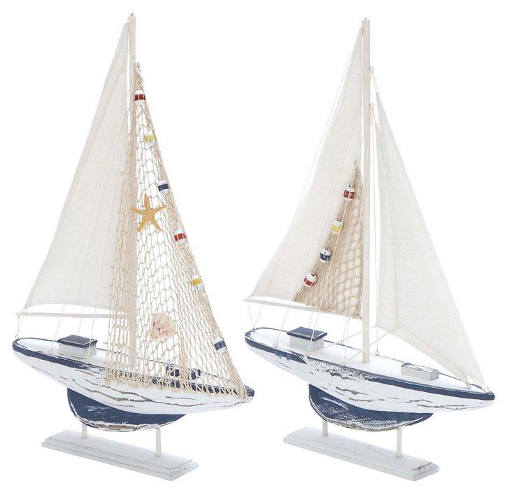 Asst. of 2 Deep-Fishing Boats