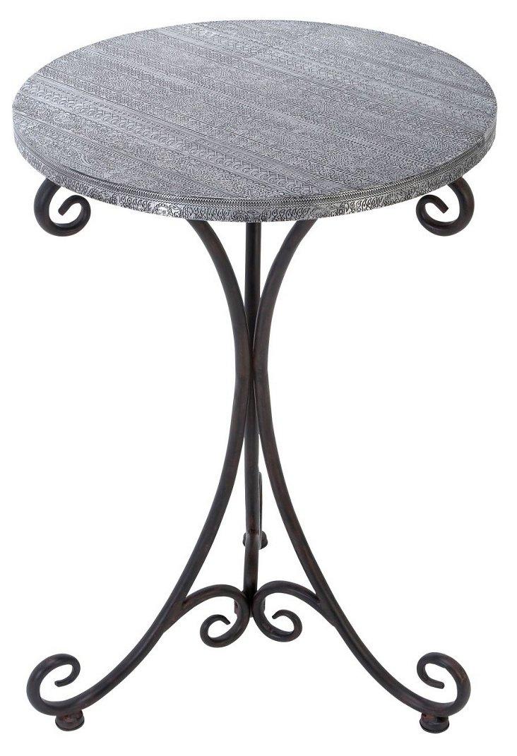Gilliam Table, Black/Gray