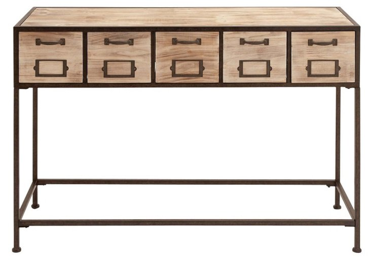 Hudson Console Table, Natural
