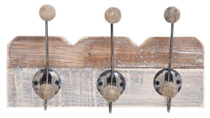 """14"""" Wood Wall Hook"""