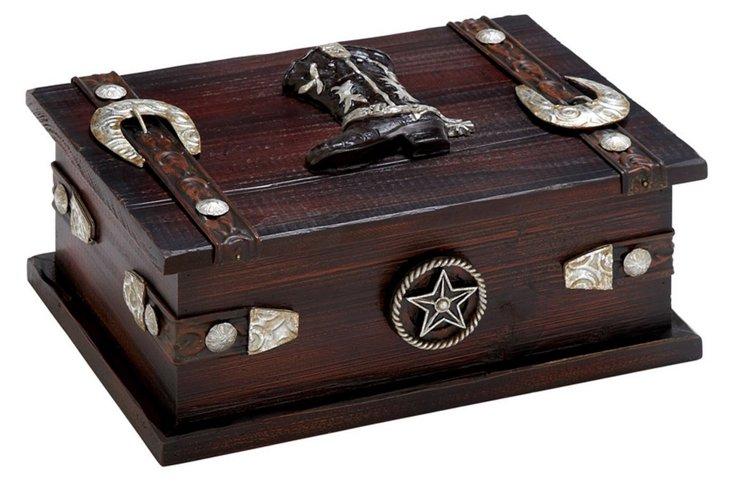 Wood Western Box