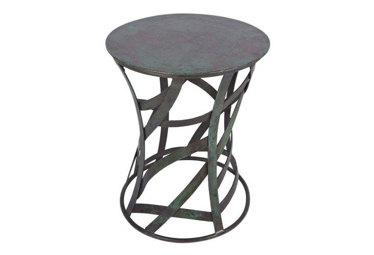 Ribbon Stool Side Table
