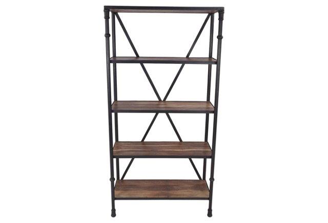 Encanto Four-Shelf Bookcase