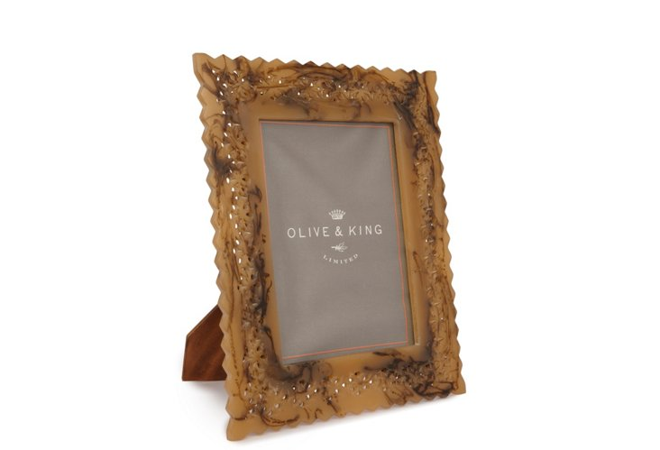 5x7 Perforated Frame, Natural