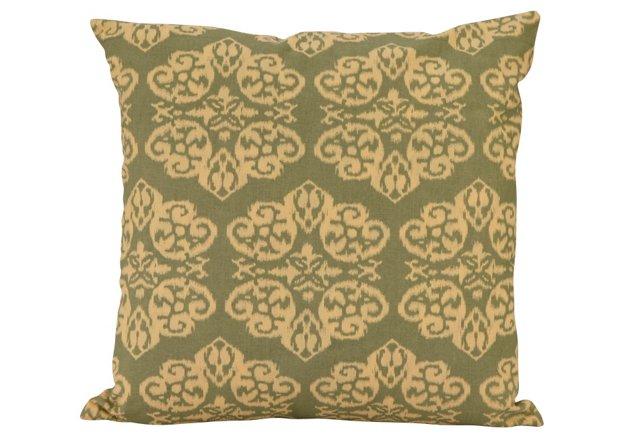 18x18 Reversible Pillow, Green