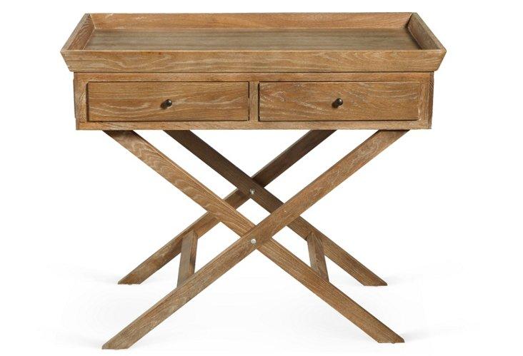 Hanna Oak Side Table