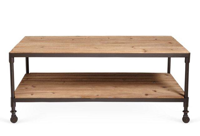 Aspen Coffee Table, Oak