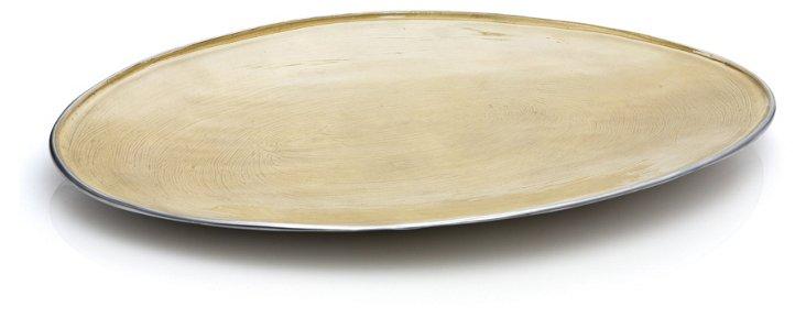 Large Enamel Platter