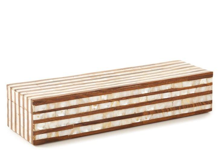 4x12 Sheesham Stripes Box