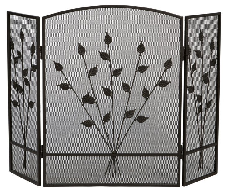 Three-Panel Fireplace Screen, Dorset