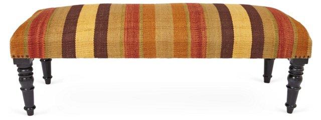 Chrissy Bench, Orange/Multi