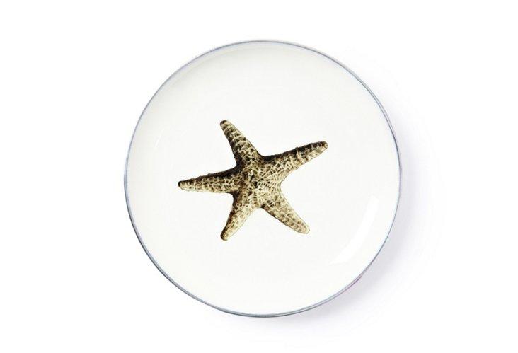 Starfish Dessert Plate
