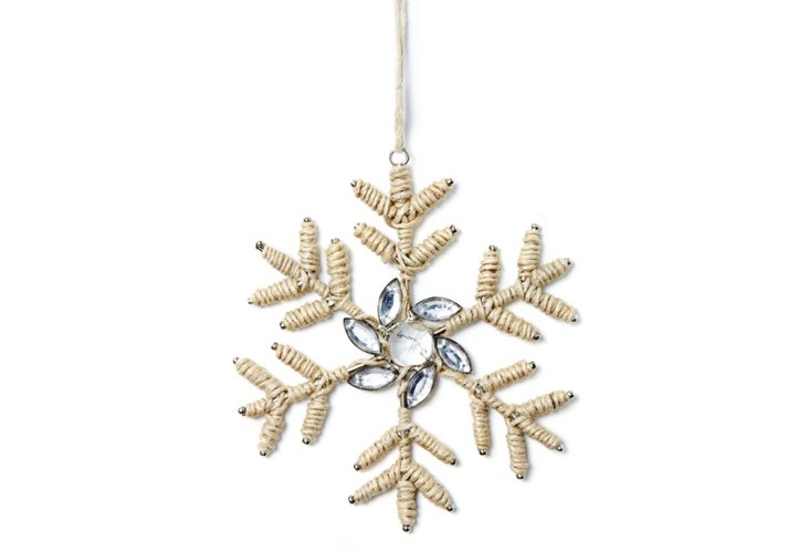 S/4 Snowflakes w/ Thread Work, Holly