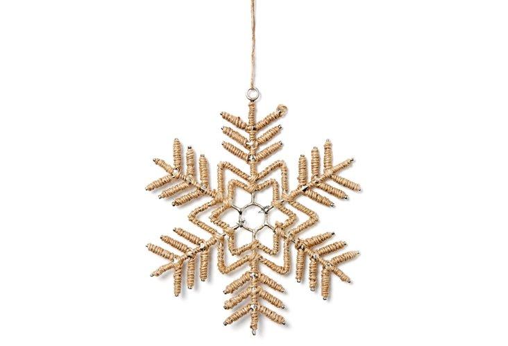 S/4 Snowflakes w/ Thread Work, Jolly