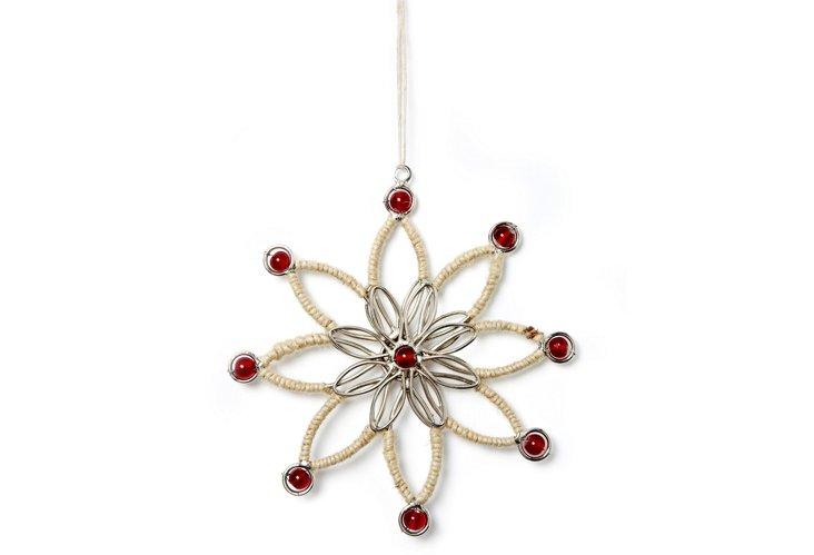 S/4 Ornaments w/ Thread Work, Yuletide
