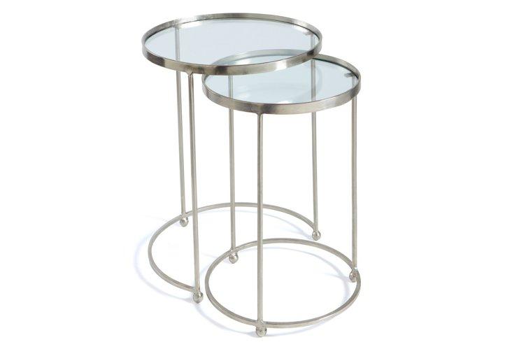 Hepburn Nesting Tables, Set of 2