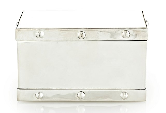5x3 Silver Bolted Box