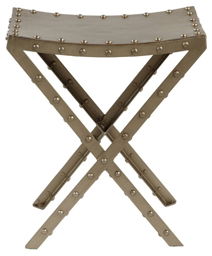 Jane Bolted Iron Stool