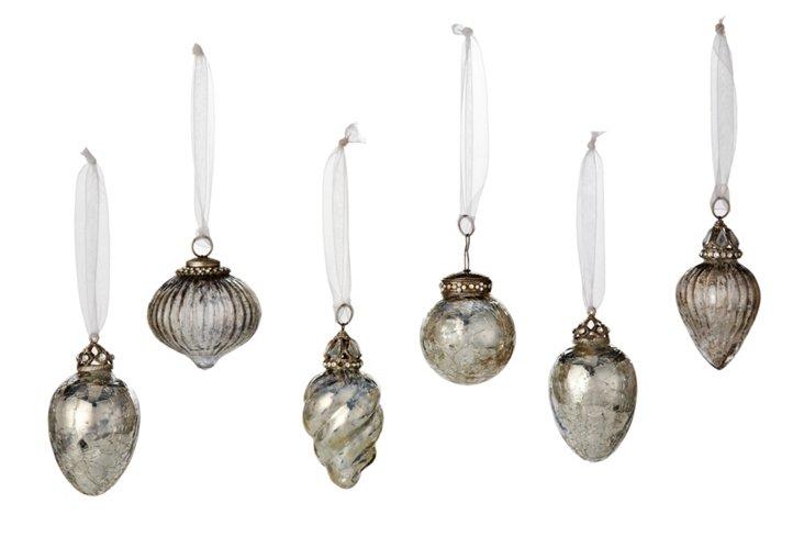 S/6 Assorted Ornaments, Bells