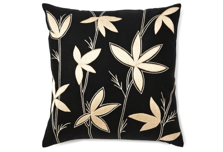 20x20 Wild Flower Pillow, Multi