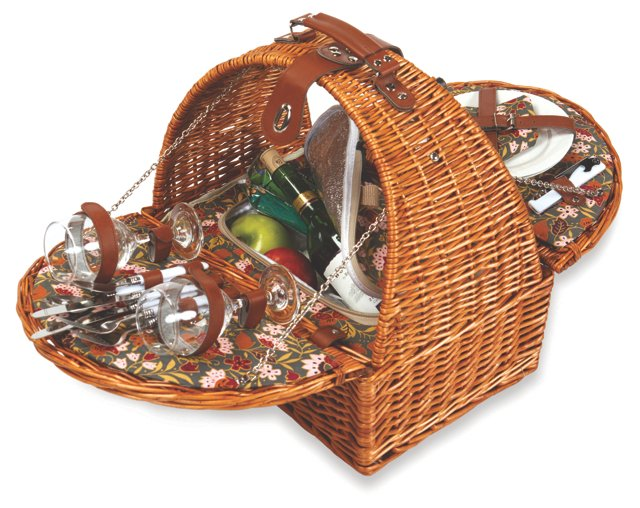 Athertyn Picnic Basket for 2, Cottage