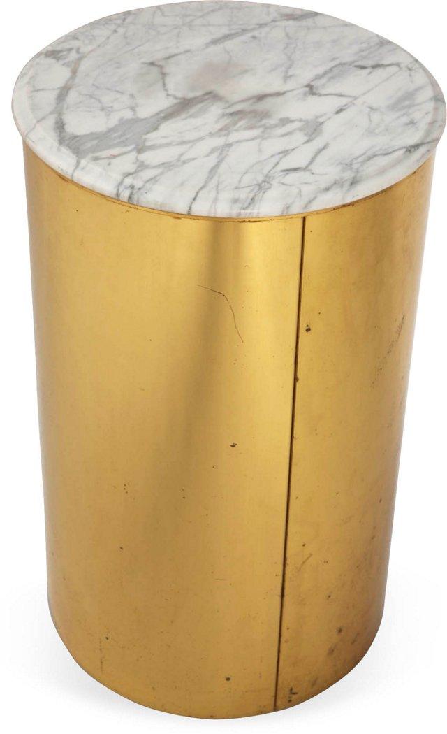 Curtis Jeré Marble & Brass Pedestal