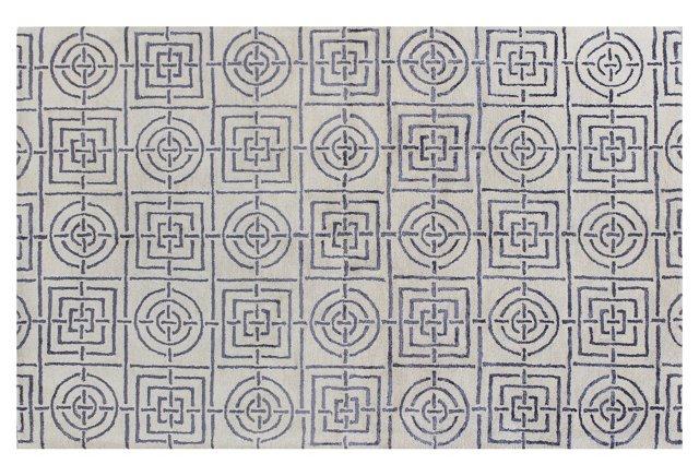 Labyrinth Rug, Ivory