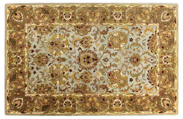 Orland Rug, Sky/Gold