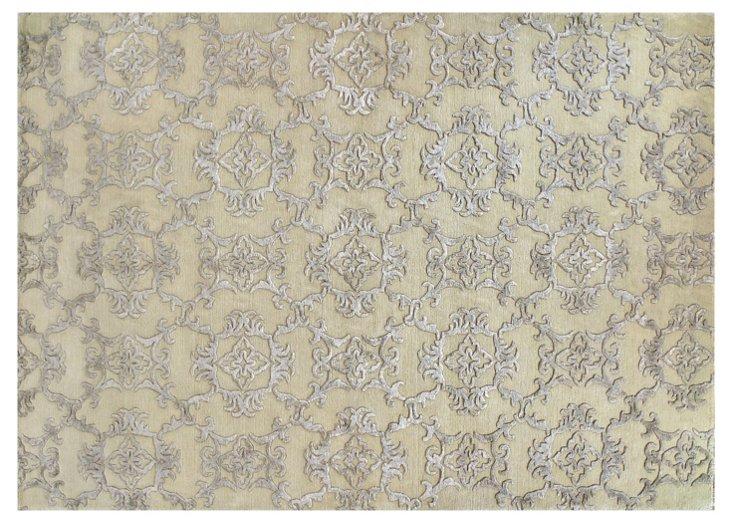 8'x10' Anderson Rug, Silver/Sage