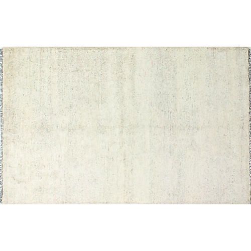 Carew Hand-Knotted Rug, Silver