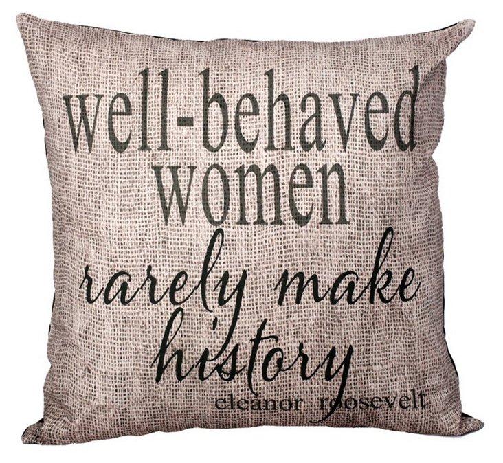 Eleanor 20x20 Pillow, Natural