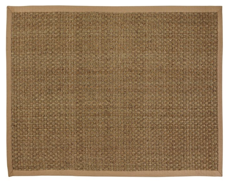 Moray Seagrass Rug, Beige