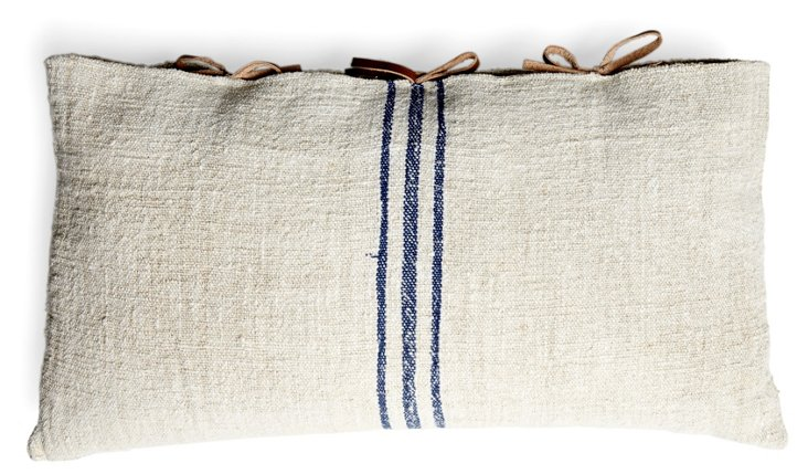 Sealed 12x22 Pillow, Blue