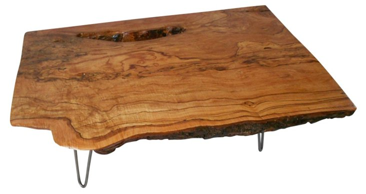 Low Boy Maple Table
