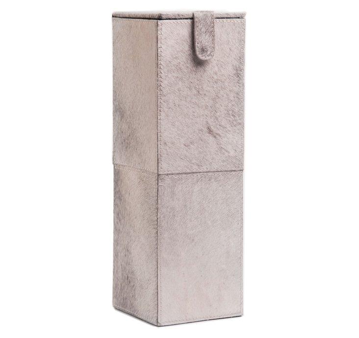 Theodore Wine Box, Gray