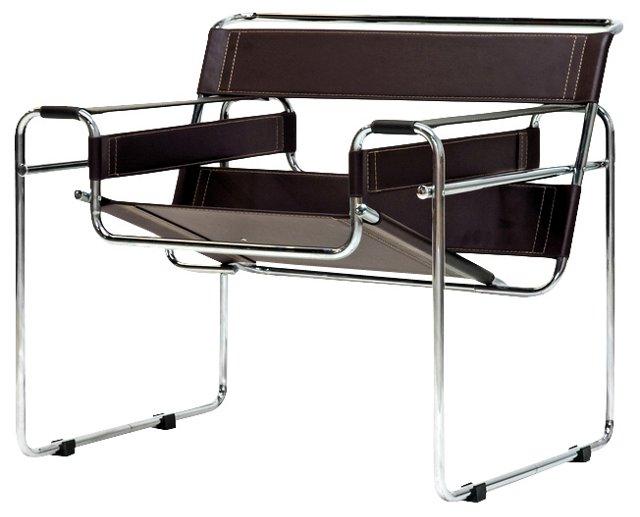 *IK Jericho Modern Accent Chair, Brown