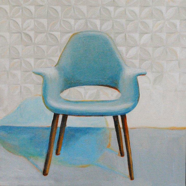 Browning, Eames & Saarinen Organic Chair