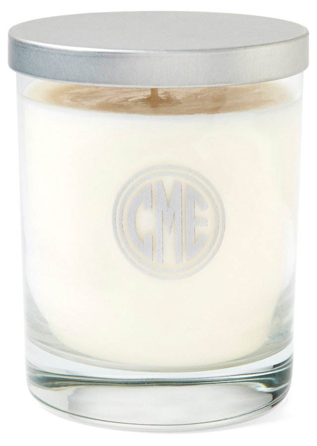 Circle Monogram Soy Candle