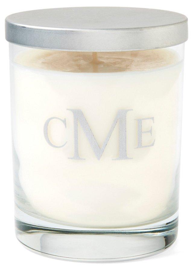 Block Monogram Soy Candle