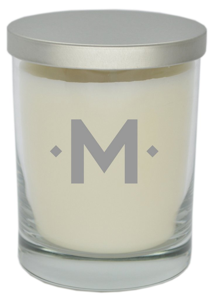 Diamond Monogram Aromatherapy Candle