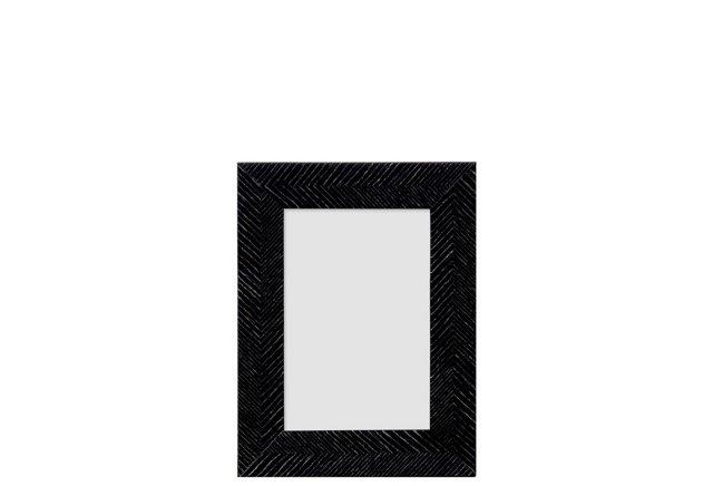 Arrows Herringbone Frame, 4x6, Black